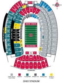 Ohio State Stadium Map by Ohiostatebuckeyes Com The Ohio State University