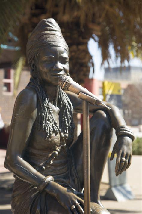 brenda fassie statue  newtown johannesburg
