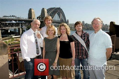 john malkovich family john malkovich john malkovich with writer michael
