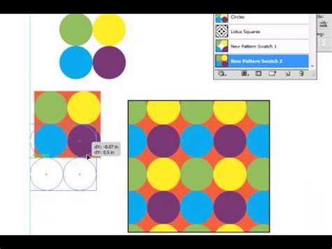 adobe illustrator pattern fill adobe illustrator cs5 pattern fill part 2 youtube