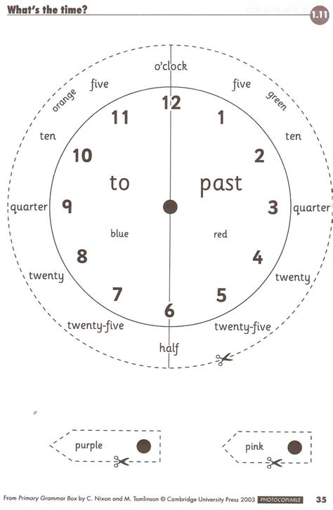 Calendar Zone Interactive Telling The Time Worksheet Free Math Worksheets