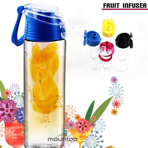 Clear Detox Water Bottle by Innovative Product Iced Fruit Infusion Pitcher Detox Water