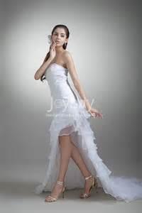 high low wedding dresses 2013 organza tiered high low 2013 wedding dresses