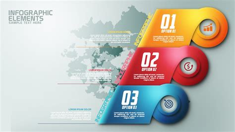 banner design with photoshop tutorial how to create modern infographic colorfull options banner