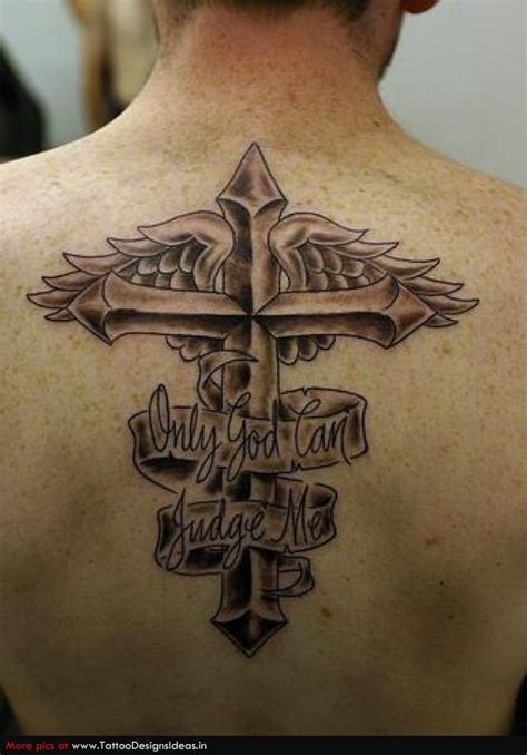 cross tattoos with quotes quotesgram
