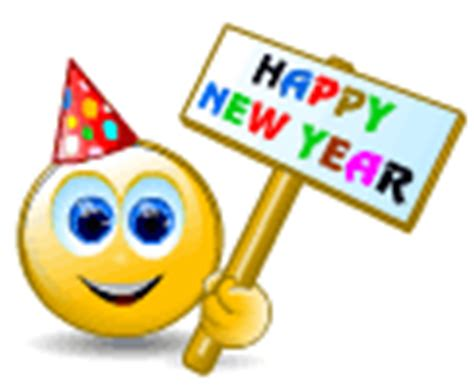 happy new year smileys animated image gallery happy new year emoticons