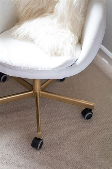 ikea hack chairs diy ikea hack gold office chair alicia tenise