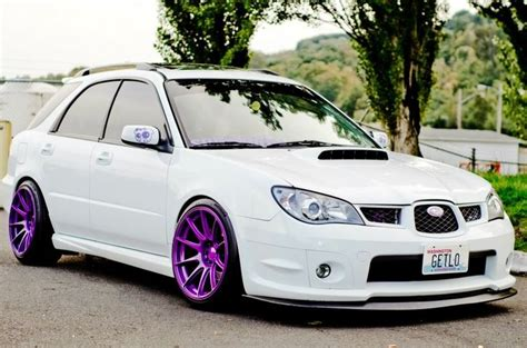 purple subaru impreza top scoobies for polls now open for final round