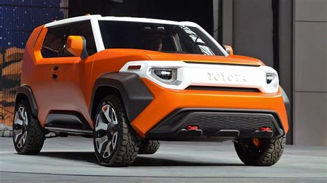 2018 Toyota Concept by New 2018 Toyota Ft 4x Concept Suv