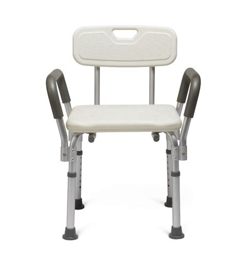 guardian shower bench guardian bath bench with back and arms by medline