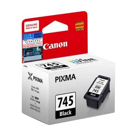 Tinta Printer Canon 745 jual canon 745 black ink cartridge harga