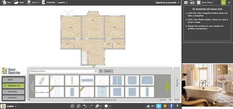 floor sketcher free floor plan software roomsketcher review
