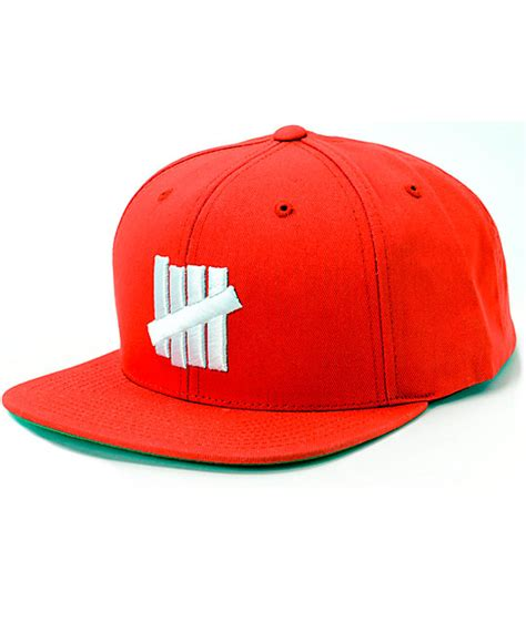 Topi Undefeated Cap Hat Snapback undefeated 5 strike snapback hat at zumiez pdp
