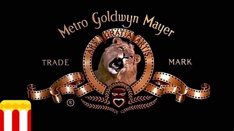 film logo with lion metro goldwyn mayer logo history 1917 2015 hd youtube