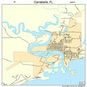 map of carrabelle florida carrabelle florida map 1210725