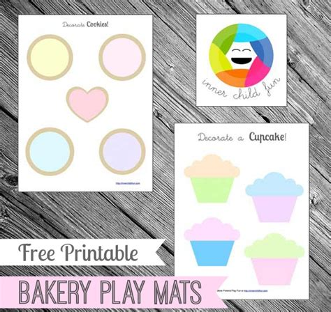 playdough mats booklet entire booklet printable free printable for preschoolers bakery play mats inner