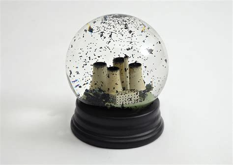 most depressing snow globe ever