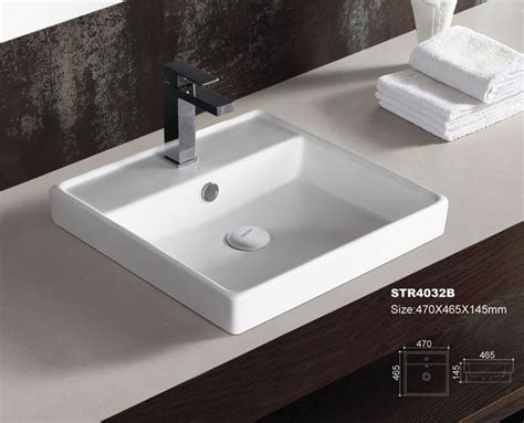 counter top bathroom sinks ceramic bathroom sink countertop sinks oval round square