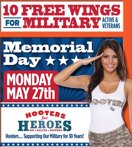 Links For May 27th by 10 Free Wings At Hooters Mojosavings