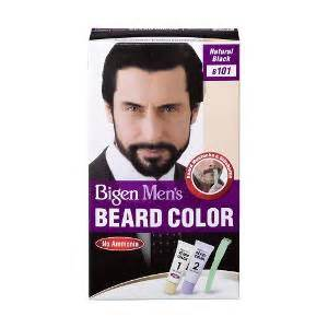 beard coloring products bigen s beard color b101 black hair color