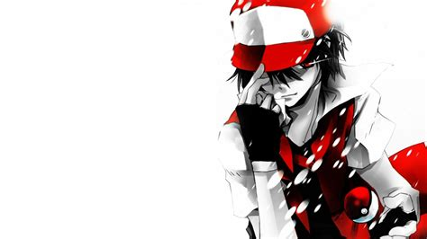 wallpaper anime red red pokemon ash wallpapers hd wallpaper of cartoon