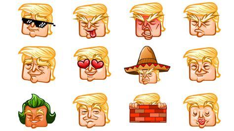 Donald Trump Emoji | crean una app que ofrece emojis de donald trump revista