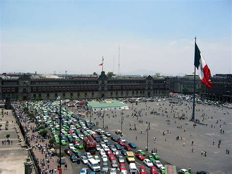 zocalo plaza mexico city learning about mexico city through spanish colonial