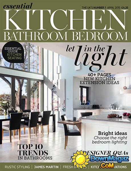bedroom magazines essential kitchen bathroom bedroom april 2015 187 download