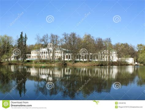 the white of pond bank books palace among trees royalty free stock photo image 24546105