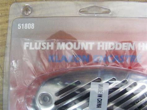 mini boat horn fiamm mini hidden boat horn stainless steel grill 12