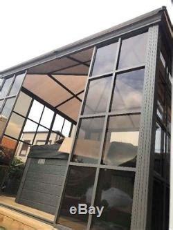 solid roof garden room hot tub shelter sides sliding