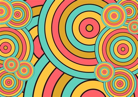background design retro circle retro color wallpaper hd wallpaper wallpaperlepi