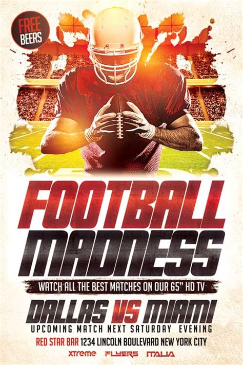 football flyers templates xtremeflyers sport flyer templates