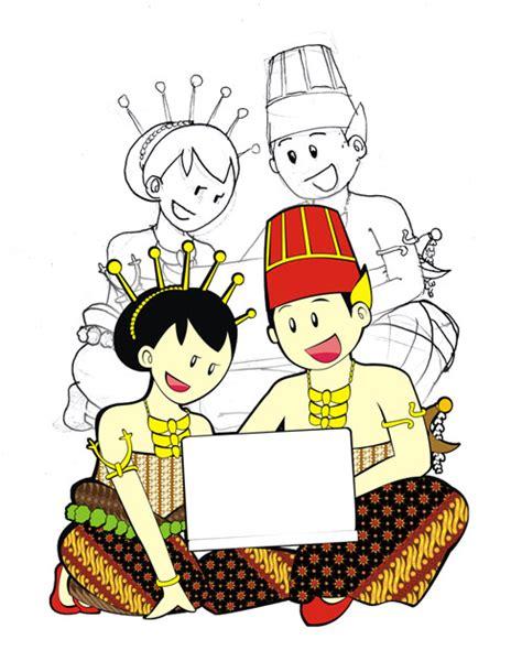 gambar counter kerudung fashion batik solo rias tradisional