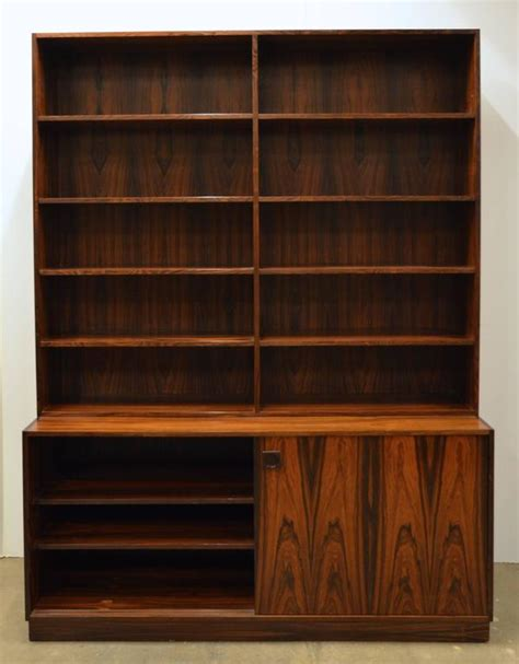 modern bookshelves for sale mid century modern rosewood bookcase for sale at