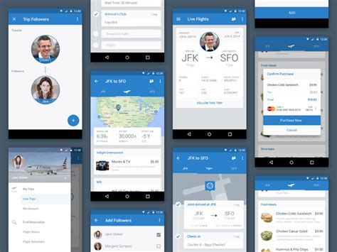 layout used in android design material design inspiration android apps using material
