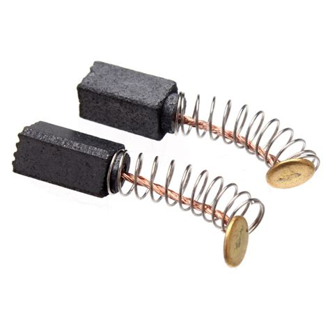 brushes for electric motors 2pcs electric motor carbon brushes motorcarbon replacement