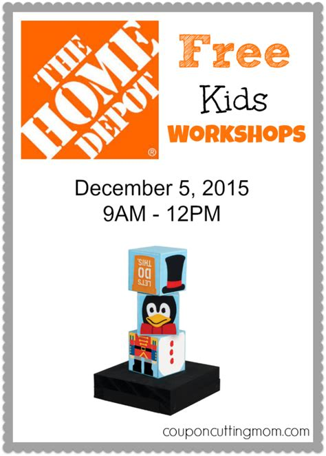 holiday stacking blocks home depot workshop 125 free stuff finder holiday stacking blocks at the free home depot kids