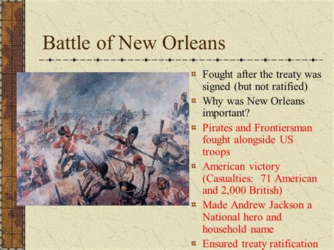 a bloodless victory the battle of new orleans in history and memory johns books on the war of 1812 books and war of ppt
