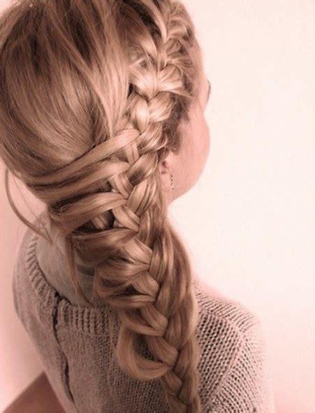 asysmetrical braids 15 classy braids for women
