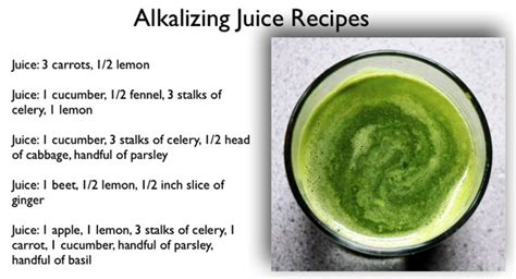 Alkaline Detox Juice Recipe by Alkaline Juice Recipes Alkaline Juicing For Health