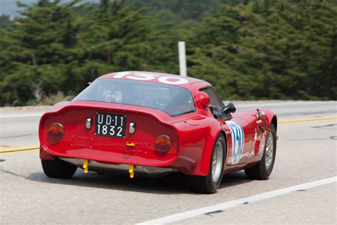 Alfa Romeo Giulia Tz2 by Alfa Romeo Giulia Tz2 Chassis Ar750106 2009 Pebble