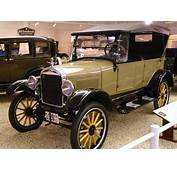 1926 Ford Model T Touring Cars