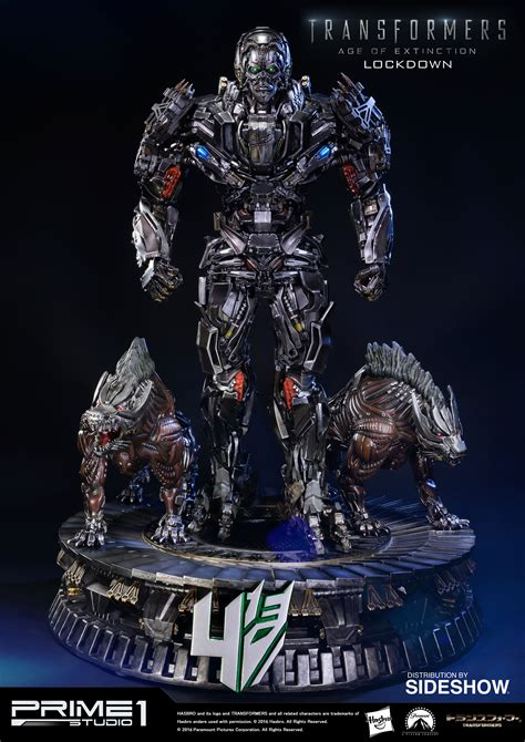 beyond extinction even the concept of is a lie books transformers lockdown polystone statue by prime 1 studio