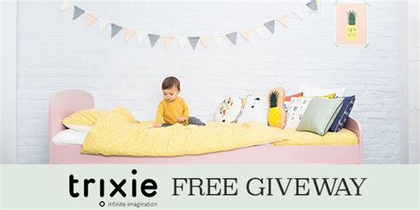 Free Giveaways For Babies - trixie baby free giveaway a gift for your child s bedroom