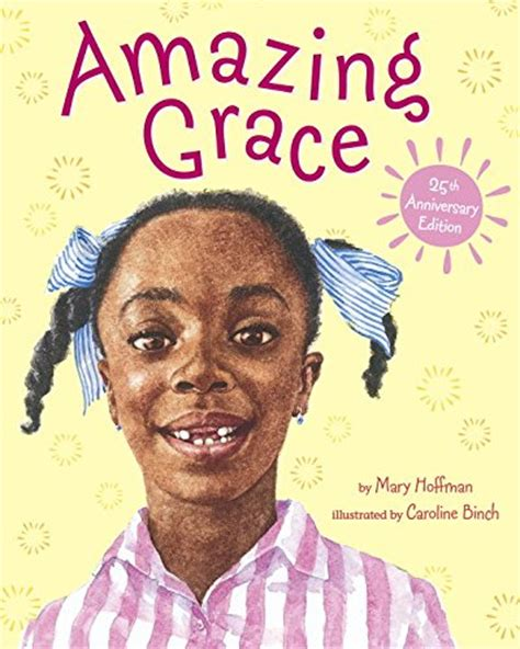 amazing picture books children s book review amazing grace by hoffman