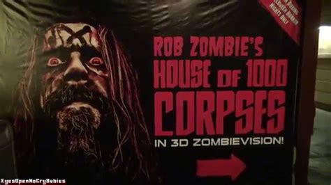 rob horror house rob s house of 1 000 corpses at horror
