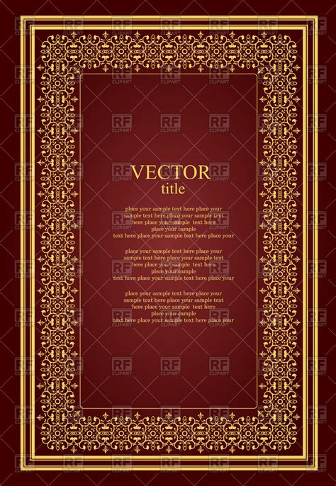 templates for book covers best photos of vintage book cover template journal cover