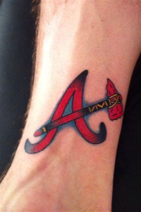 1000 images about atlanta braves tattoos on