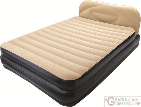letto gonfiabile matrimoniale bestway airbed soft back elevated letto matrimoniale
